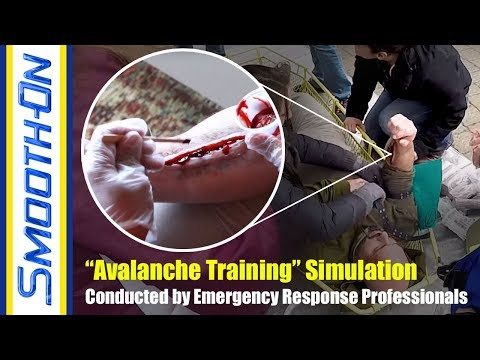 Disaster Simulation and Training Exercise, Avalanche