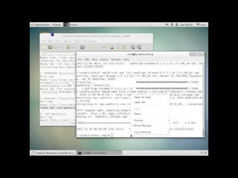 Installing EPEL, REMI, RPMFORGE, WEBTATIC, IUS, ELRepo Repositories in Centos Linux 7