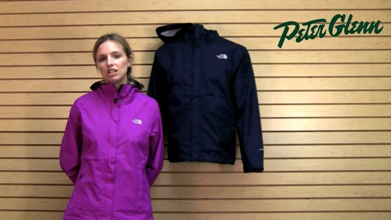 The North Face Venture Rain Jacket Review from Peter Glenn - YouTube