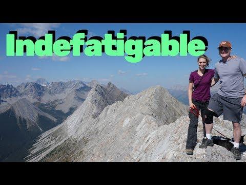 Mt. #Indefatigable hike, Kananaskis Alberta (HD)