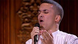 Jahmene Douglas's performance - David Guetta's Titanium - The X Factor UK 2012