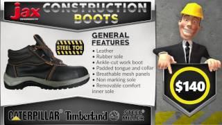 JAX Construction Shoes || Safe, Tough and Comfortable