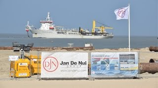 Sand Suppletion at the Belgian Coast- Wenduine - Jan de Nul - 2017