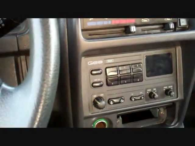 [XOTG_4463]  1997 Geo Tracker Radio Install - YouTube | 1993 Geo Tracker Radio Wiring |  | YouTube