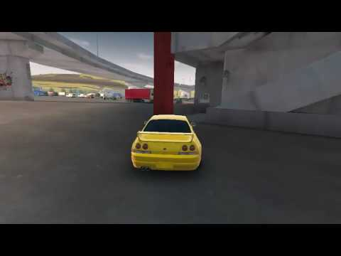 Secret underground drift area on carx drift racing on map parking zone