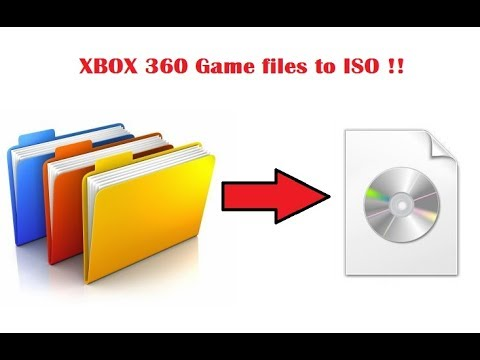 create xbox 360 iso from extracted files