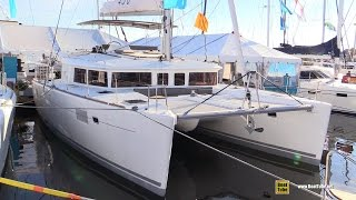 2016 Lagoon 450 Catamaran - Deck and interior Walkaround - 2015 Annapolis Sail Boat Show