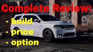2018 Dodge Durango SRT Performance AWD SUV - Build & Price Review