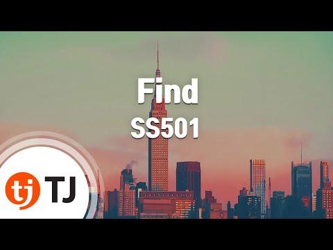 [TJ노래방] Find - SS501 / TJ Karaoke