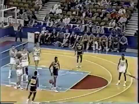 1987-88 Men's Basketball NAIA National Tournament: Eastern College vs. Minnesota-Duluth