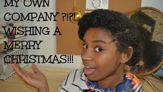 Wishing a MERRY CHRISTMAS!! My Own Hair LINE?!?!