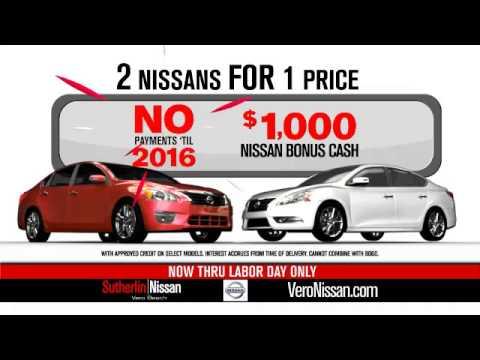Sutherlin Nissan Vero Beach >> Sutherlin Nissan Vero Beach Get It All Sales Event