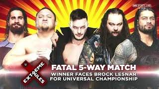 Wwe extreme rules promo 2017 - fatal 5-way