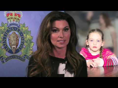 RCMP Releases Family Violence Public Service Announcement Featuring Shania Twain