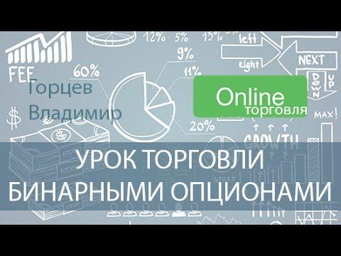 Видео урок по бинарным опционам - запись торговли