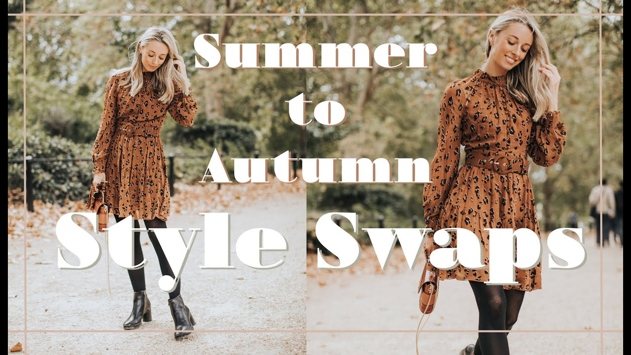 [VIDEO] – 12 SUMMER TO AUTUMN STYLE SWAPS // Fashion Mumblr