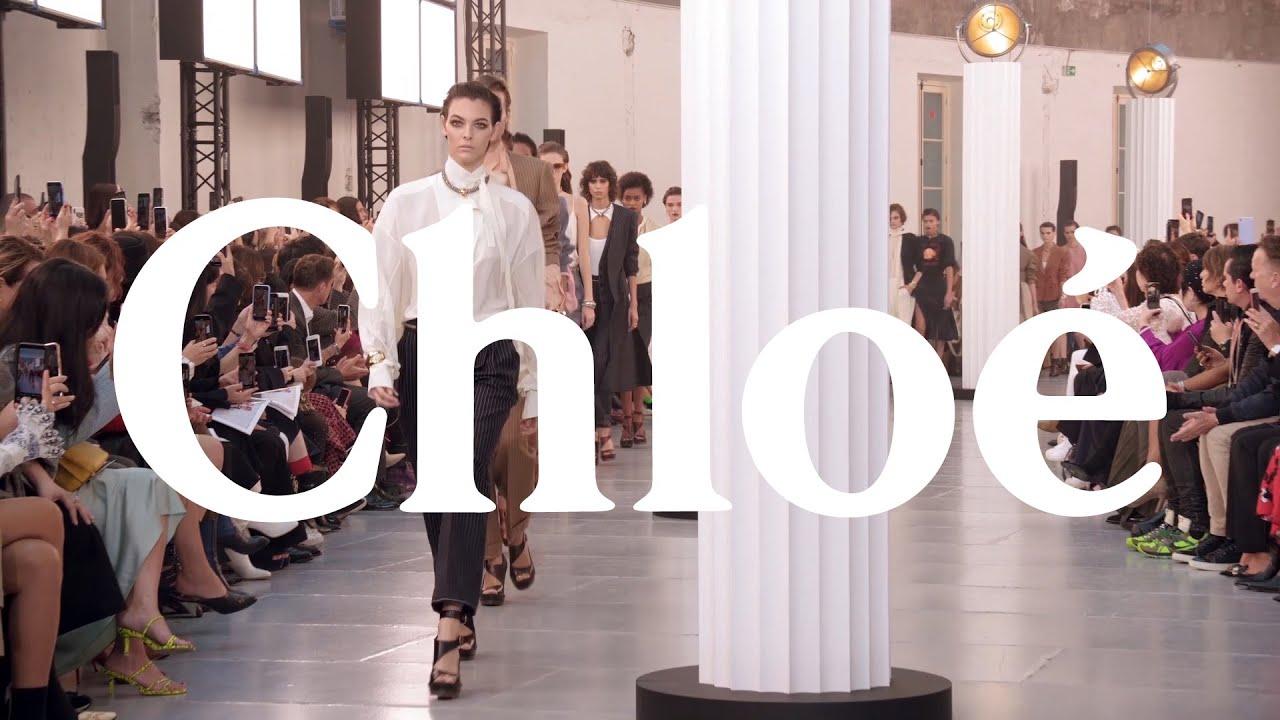 Wonderbaarlijk The Chloé Spring-Summer 2020 Show - YouTube ML-38