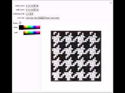 Houndstooth Patterns - YouTube