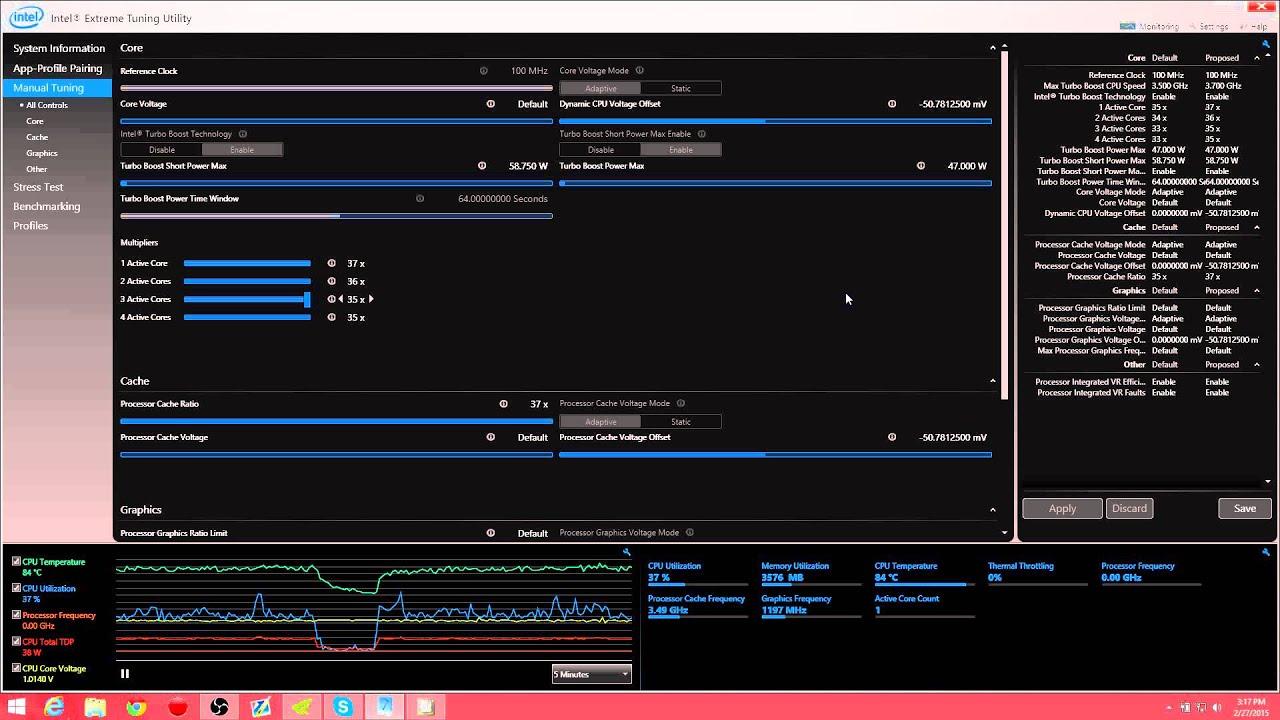 Overclocking / Reducing Temps / Undervolting the i7 4710HQ/MQ Tutorial