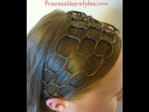 Honeycomb Headband Hairstyle Tutorial
