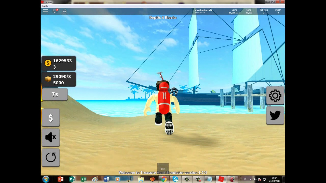 Roblox Treasure Hunt Simulator Videos - Hack Como Ir A Las Islas De Treasure Hunt Simulatorroblox