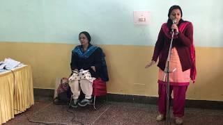 """Saumya singing """"Ninne Kanan Enne Kalum"""""""