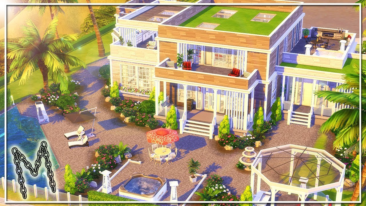MOSCHINO MANSION || The Sims 4: Speed Build (Moschino Stuff Pack)