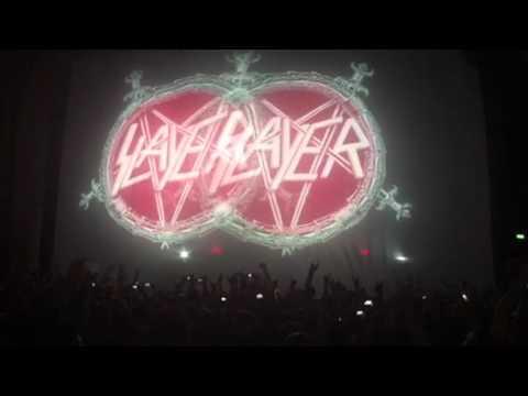 Delusions of Saviour SLAYER - live concert opening O2 Brixton London