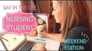 Repeat youtube video Day In the Life of a Nursing Student - WEEKEND EDITION
