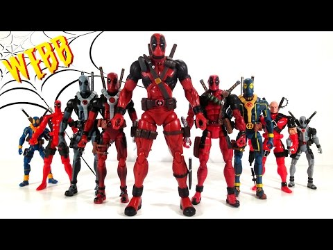 DEADPOOL Action Figure Evolution Part 1