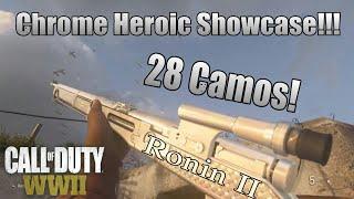 Ronin II - CHROME Heroic Showcase! (Type 38) Call Of Duty: WWII