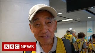 Protecting Hong Kong's young protesters - BBC News