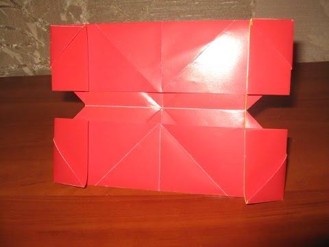 видео: Поделки с детьми!Фото рамка оригами. Сделай сам.photoframe origami.