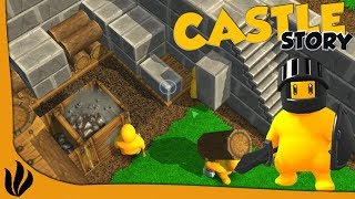ON CONSTRUIT NOTRE DEFENSE BRIQUE PAR BRIQUE ! (Castle Story)