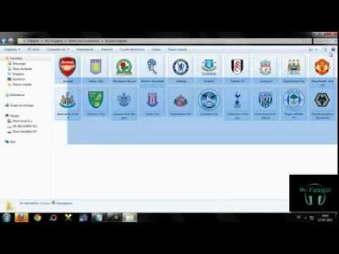 Como Editar Escudos De La Liga Inglesa Pes 2012 para ps3
