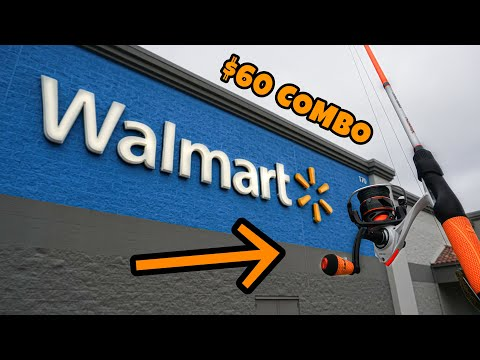 Fishing With BEST Rod/Reel Combo At Walmart! (Surprising)