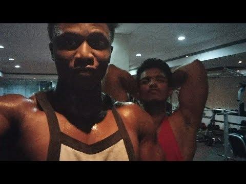 Batman vs robin - fitness motivation   bangalore   dayananda sagar college gym