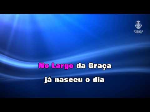 ♫ Karaoke MEU AMOR DE LONGE - Raquel Tavares