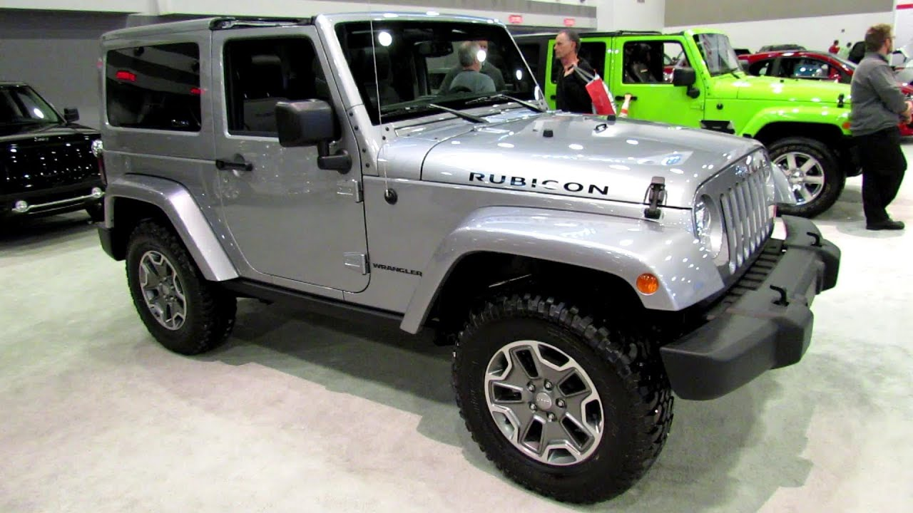 2013 Jeep Wrangler Unlimited Rubicon Exterior And Interior Walkaround 2013 Ottawa Auto Show