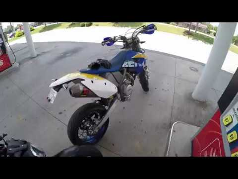 Husaberg FE 570 Supermoto First Ride Part 1