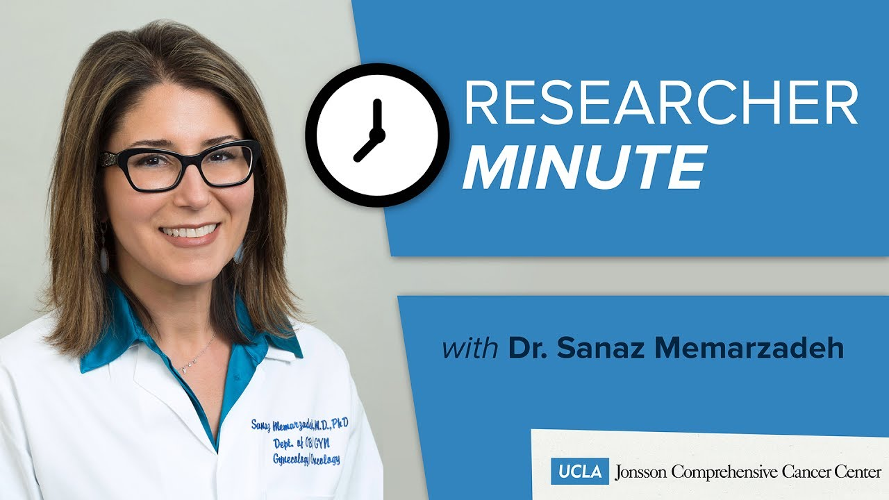 Researcher Minute with Dr  Sanaz Memarzadeh