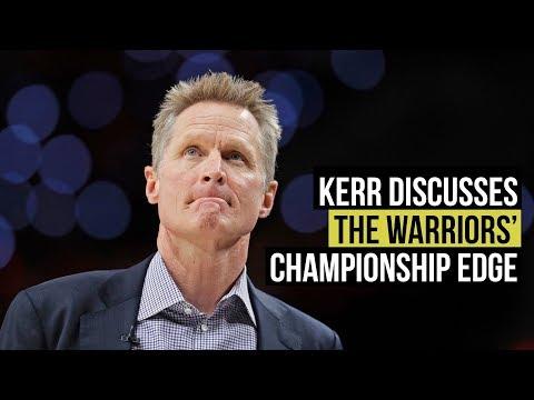 NBA playoffs: Kerr explains Warriors' championship pedigree