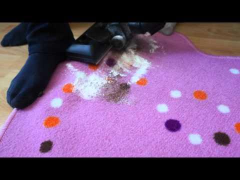 Турбощётка vs Мусор на ковровом покрытие