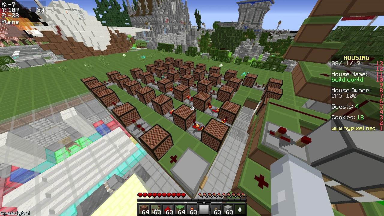 despacito in minecraft hypixel housing