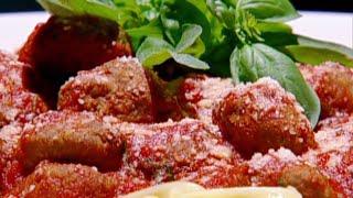 كرات اللحم مع الفتتشيني - نضال البريحي
