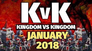 Lords Mobile - Jan 2018 KvK - 7 Million Kills