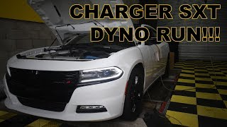 2016 Dodge Charger v6 8 speed on the Dyno!