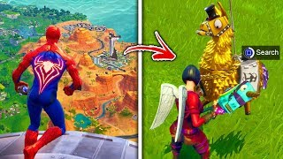 Top 5 Fortnite Myths THAT FINALLY GOT BUSTED! (Loot Lake Volcano, Spiderman Skin & More)