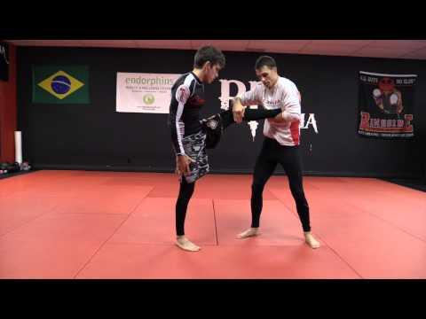 Chris Prickett Wrestling For MMA: Finishing The Single Leg