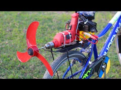 Homemade air bike